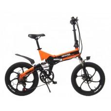 "Электровелосипед Maxxter RUFFER MAX 20"" (черно-оранжевый)"