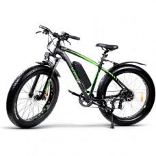 Электровелосипед GreenGo Bruiser Black Green
