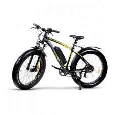 Электровелосипед GreenGo Bruiser Black Yellow