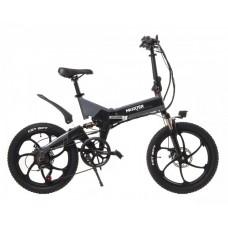 """Электровелосипед Maxxter RUFFER MAX 20"""" (черно-серый)"""
