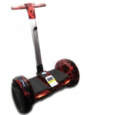 """Гироскутер Smart Balance A8 10"""" с ручкой Красное пламя"""