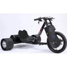 """Скутер для дрифта взрослый COOLBABY SMALL """"DRIFT TRIKE"""" Черный Дрифт"""