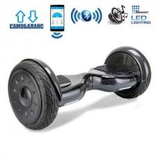 """Гироборд Smart Balance Wheel U20 Premium +Autobalance +Арр 10.5"""" Черный карбон"""