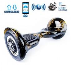 """Гироборд Smart Balance Wheel U10 Premium +Autobalance +Арр 10"""" Желтая молния"""