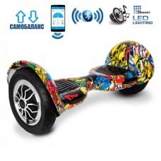 "Гироборд Smart Balance Wheel U10 Premium +Autobalance +Арр 10"" Хип-хоп"