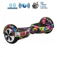 """Гироборд Smart Balance Wheel U6 Pro +Autobalance 6.5"""" Джунгли"""
