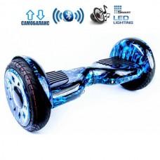 "Гироборд Smart Balance Wheel U20 Pro +Autobalance 10.5"" Синее пламя"