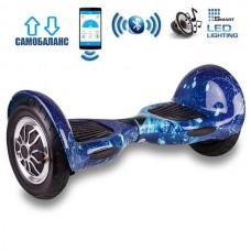 "Гироборд Smart Balance Wheel U10 Premium +Autobalance +Арр 10"" Звездное небо"