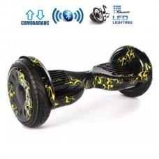 """Гироборд Smart Balance Wheel U20 Pro +Autobalance 10.5"""" Желтая молния"""