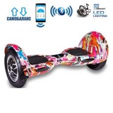 "Гироборд Smart Balance Wheel U10 Premium +Autobalance +Арр 10"" Рыбки"