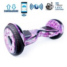 "Гироборд Smart Balance Wheel U20 Premium +Autobalance +Арр 10.5"" Розовый космос"