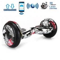 "Гироборд Smart Balance Wheel U20 Premium +Autobalance +Арр 10.5"" Пират"