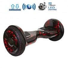 "Гироборд Smart Balance Wheel U20 Pro +Autobalance 10.5"" Красная молния"