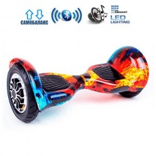 "Гироборд Smart Balance U10 Premium +Autobalance 10"" Лед и пламя"