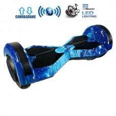 Гироборд Smart Balance Lambo Premium +Autobalance +BT Синий космос