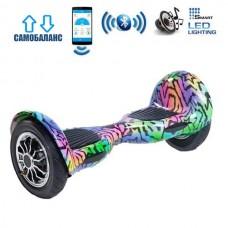 """Гироборд Smart Balance Wheel U10 Premium +Autobalance +Арр 10"""" Звезды"""
