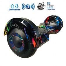 Гироборд Smart Balance Lambo Premium +Autobalance +BT Цветные молнии