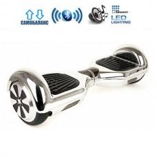 """Гироборд Smart Balance Wheel U6 Pro +Autobalance 6.5"""" Серебро"""