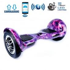 "Гироборд Smart Balance Wheel U10 Premium +Autobalance +Арр 10"" Фиолетовый космос"