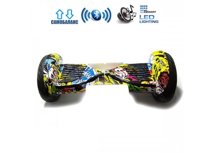 "Гироборд Elite Lux Premium U20 +Autobalance 10.5"" Хип-хоп"