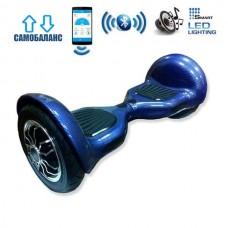 "Гироборд Smart Balance Wheel U10 Premium +Autobalance +Арр 10"" Синий карбон"