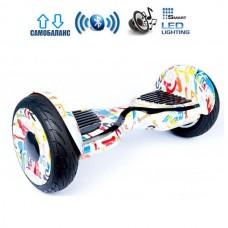 "Гироборд Smart Balance Wheel U20 Pro +Autobalance 10.5"" Граффити"