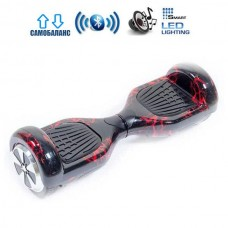 "Гироборд Smart Balance Wheel U6 Pro +Autobalance 6.5"" Красная молния"
