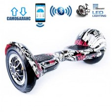 "Гироборд Smart Balance Wheel U10 Premium +Autobalance +Арр 10"" Пират"