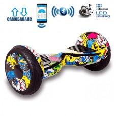 "Гироборд Smart Balance Wheel U20 Premium +Autobalance +Арр 10.5"" Хип-хоп"