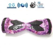 """Гироборд Elite Lux Lambo Premium +Autobalance 8"""" Розовый космос"""