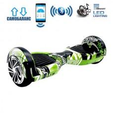 "Гироборд Smart Balance Wheel U6 Premium +Autobalance +Арр 6.5"" Бамбук"