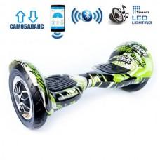 "Гироборд Smart Balance Wheel U10 Premium +Autobalance +Арр 10"" Бамбук"