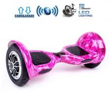 """Гироборд Smart Balance U10 Premium +Autobalance 10"""" Розовый Космос"""