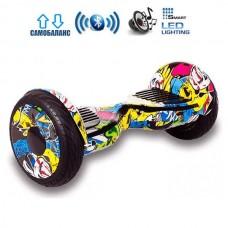 """Гироборд Smart Balance Wheel U20 Pro +Autobalance 10.5"""" Хип-хоп"""