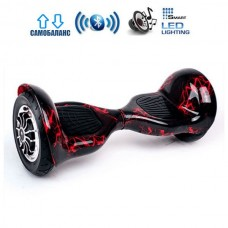 "Гироборд Smart Balance Wheel U10 Pro +Autobalance 10"" Красная молния"