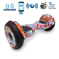"Гироборд Smart Balance Wheel U20 Premium +Autobalance +Арр 10.5"" Рыбки"