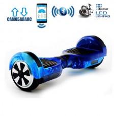 "Гироборд Smart Balance Wheel U6 Premium +Autobalance +Арр 6.5"" Звездное небо"