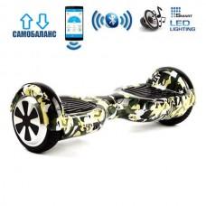 """Гироборд Smart Balance Wheel U6 Premium +Autobalance +Арр 6.5"""" Камуфляж"""