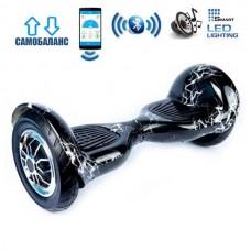 "Гироборд Smart Balance Wheel U10 Premium +Autobalance +Арр 10"" Белая молния"