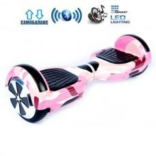 """Гироборд Smart Balance Wheel U6 Pro +Autobalance 6.5"""" Розовый камуфляж"""
