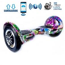 "Гироборд Smart Balance Wheel U10 Premium +Autobalance +Арр 10"" Джунгли"