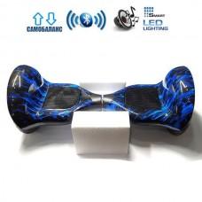 "Гироборд Elite Lux U10 Premium +Autobalance 10"" Синее пламя"