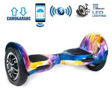 """Гироборд Smart Balance Wheel U10 Premium +Autobalance +Арр 10"""" Галактика"""
