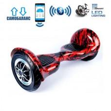"Гироборд Smart Balance Wheel U10 Premium +Autobalance +Арр 10"" Пламя"