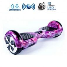 "Гироборд Smart Balance Wheel U6 Pro +Autobalance 6.5"" Розовый космос"