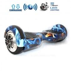 """Гироборд Smart Balance Wheel U6 Pro +Autobalance 6.5"""" Метеориты"""