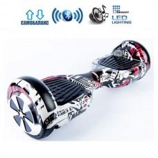 "Гироборд Smart Balance Wheel U6 Pro +Autobalance 6.5"" Пират"