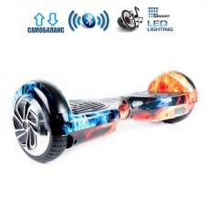 "Гироборд Smart Balance Wheel U6 Pro +Autobalance 6.5"" Лед и Пламя"
