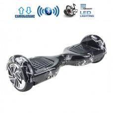 "Гироборд Smart Balance Wheel U6 Pro +Autobalance 6.5"" Белая молния"