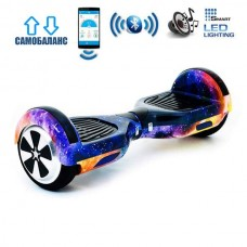 """Гироборд Smart Balance Wheel U6 Premium +Autobalance +Арр 6.5"""" Галактика"""